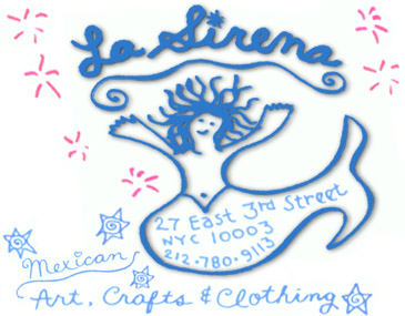 About la sirena for Art and craft stores nyc